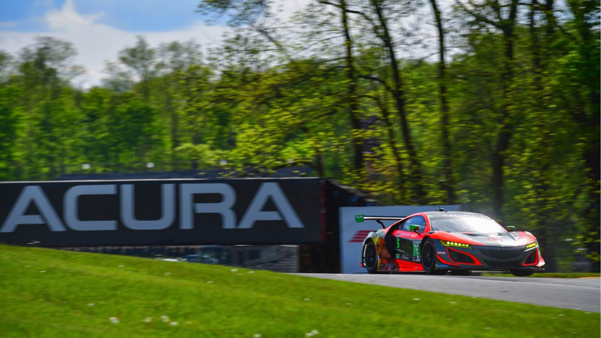 Mit Compass Racing und Acura im Sprint Cup