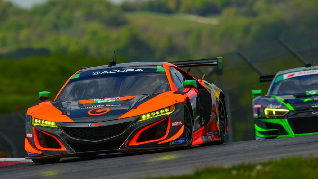 Solid debut for Farnbacher and Compass Racing